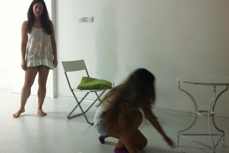 Lab on Sanford Meisner, Stella Adler and Lee Strassberg / Θεατρικό Εργαστήρι με τη Σκηνοθέτη Αθηνά Ξενίδου 2012, by RED STAGE THEATRE